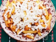Рецепта Пържени картофи със сирене